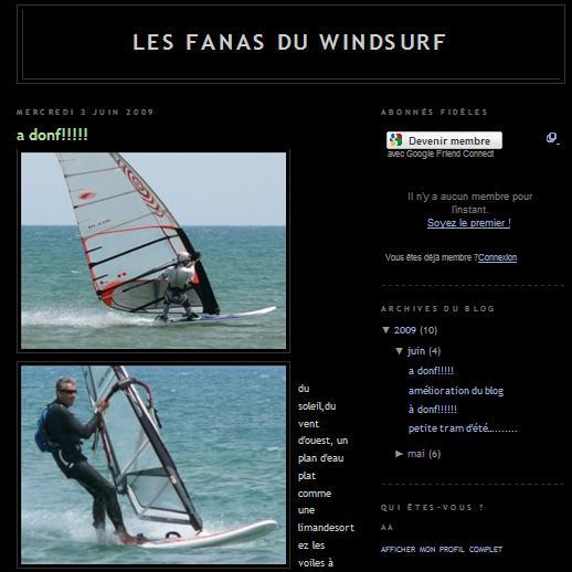 Les fanas du windsurf