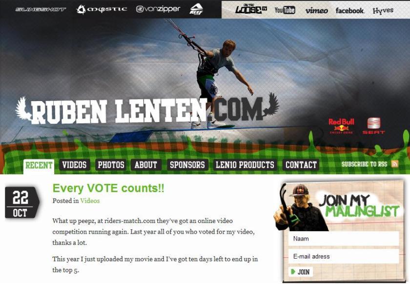 Ruben lenten web site
