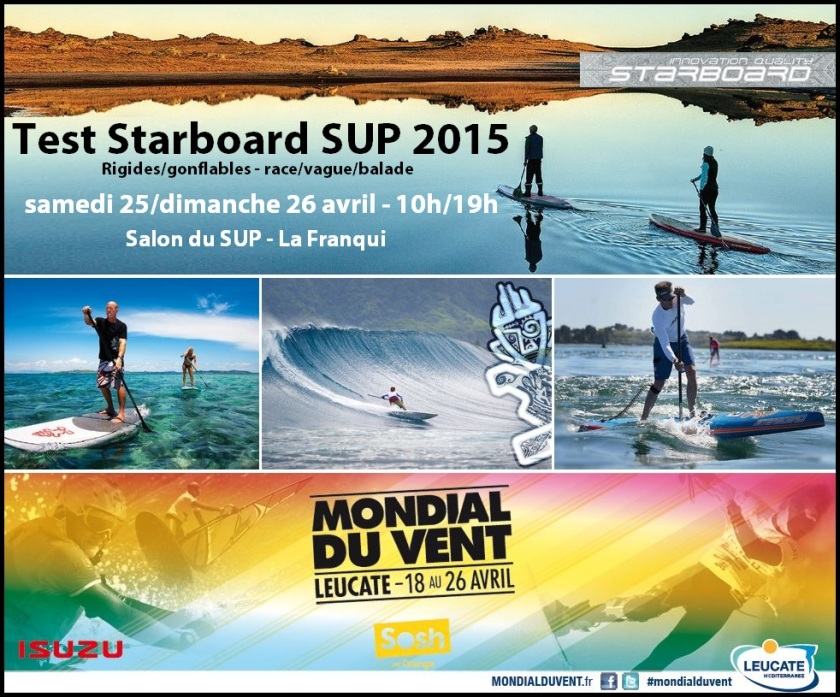 test Starboard SUP mdv 2015