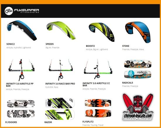 gamme Flysurfer
