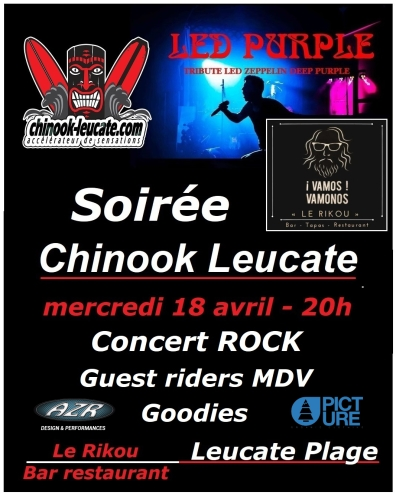 affiche soirée chinook v3